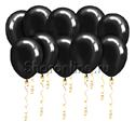 Фото №1: Черные шары металлик