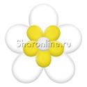 Фото №2: Цветок из шаров белый