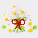 """Фото №1: Цветы из шаров """"Ромашки"""""""