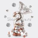"""Фото №3: Фигура из шаров """"Цифра с бабочкой"""""""