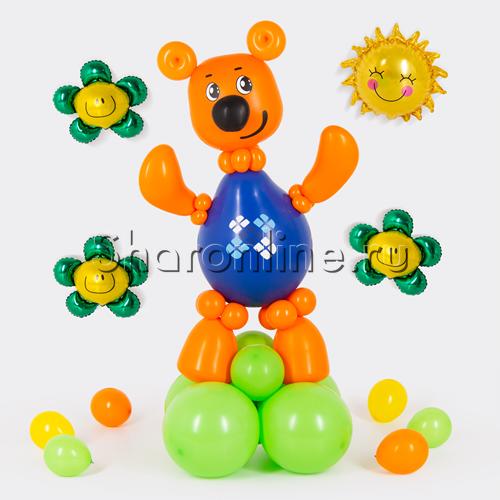 """Фото №1: Фигура из шаров """"Иннокентий"""" Ми-ми-мишки"""