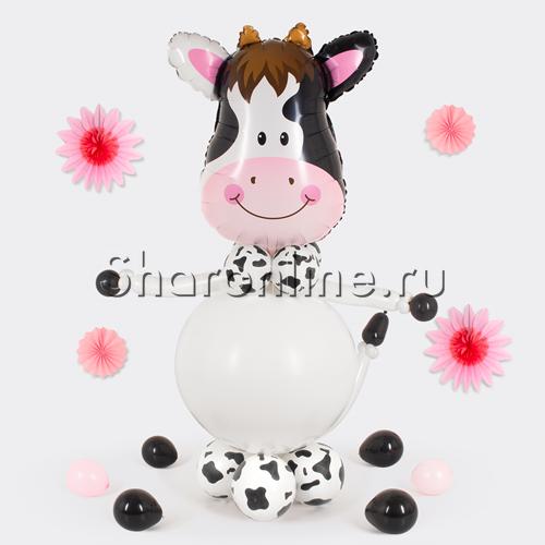 "Фото №1: Фигура из шаров ""Корова"""