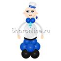 """Фото №2: Фигура из шаров """"Матрос"""""""