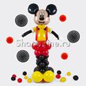 "Фото №1: Фигура из шаров ""Микки Маус"""