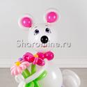 """Фото №2: Фигура из шаров """"Мышка"""""""