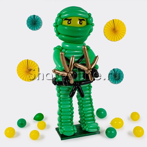 """Фото №2: Фигура из шаров Ниндзяго """"Ллойд"""""""