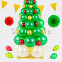 """Фото №3: Фигура из шаров """"Новогодняя елка"""""""