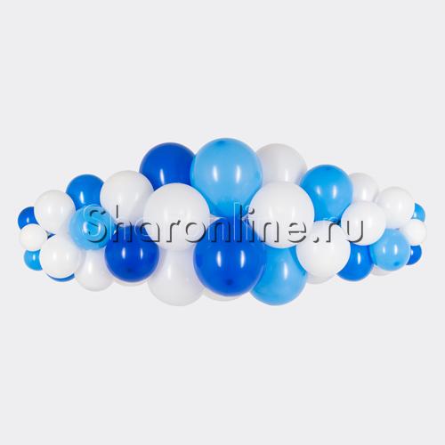 """Фото №1: Фигура из шаров """"Облачко"""" воздух"""