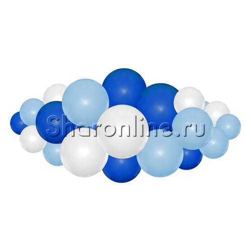 """Фото №2: Фигура из шаров """"Облачко"""" воздух"""