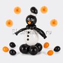 """Фото №1: Фигура из шаров """"Пингвин"""""""