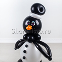 """Фото №2: Фигура из шаров """"Пингвин"""""""