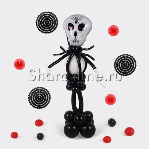 """Фото №1: Фигура из шаров """"Повелитель тьмы"""""""