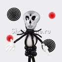 """Фото №2: Фигура из шаров """"Повелитель тьмы"""""""