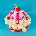 """Фото №1: Фигура из шаров """"Праздничный торт"""""""