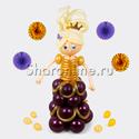 """Фото №1: Фигура из шаров """"Принцесса"""""""