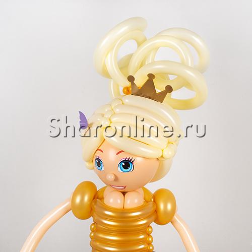 """Фото №2: Фигура из шаров """"Принцесса"""""""