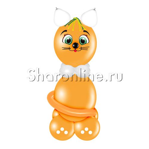 """Фото №1: Фигура из шаров """"Кот Барсик"""""""