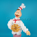 "Фото №2: Фигура из шаров ""Шеф-повар"""