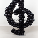 """Фото №2: Фигура из шаров """"Скрипичный ключ"""""""