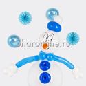 """Фото №2: Фигура из шаров """"Снеговик"""""""