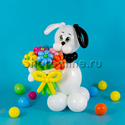 "Фото №1: Фигура из шаров ""Собака Бим"""