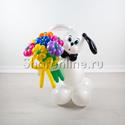 "Фото №2: Фигура из шаров ""Собака Бим"""