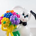 "Фото №3: Фигура из шаров ""Собака Бим"""