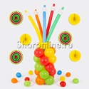 "Фото №1: Фигура из шаров ""Стакан с карандашами"""