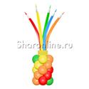 "Фото №2: Фигура из шаров ""Стакан с карандашами"""