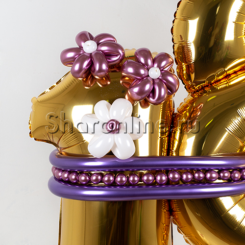 """Фото №3: Фигура из шаров """"Важная дата"""""""