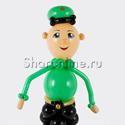 """Фото №2: Фигура из шаров """"Военный"""""""
