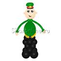 """Фото №3: Фигура из шаров """"Военный"""""""