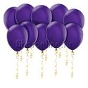 Фото №1: Фиолетовые матовые шары