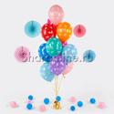 """Фото №1: Фонтан из шаров """"Любимой маме"""""""