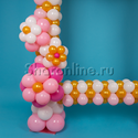 """Фото №2: Фоторамка из шаров """"Барокко"""""""