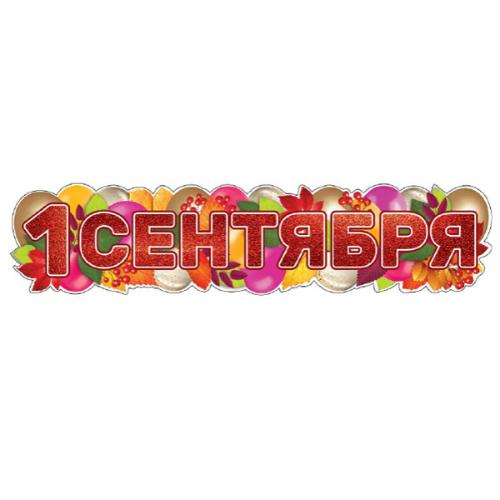 """Фото №1: Гирлянда """"1 Сентября"""" 100 см"""