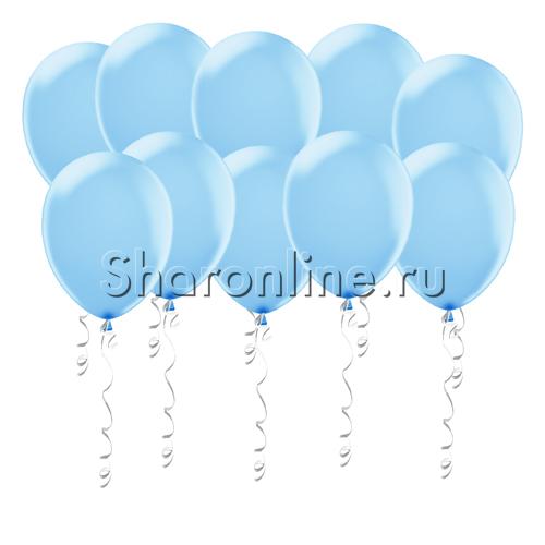 Фото №1: Голубые матовые шары