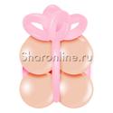 """Фото №1: Грузик в виде подарка """"Персиковый с розовым"""""""
