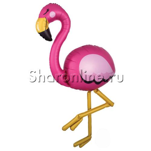 "Фото №1: Ходячая фигура ""Фламинго"" 172 см"