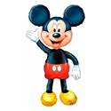 """Фото №1: Ходячий шар """"Микки-Маус"""" 132 см"""