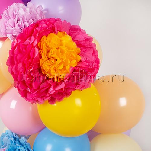"""Фото №3: Инсталляция из шаров """"Карнавал"""""""