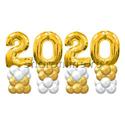 """Фото №3: Композиция из шаров """"2021"""""""