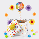 """Фото №2: Коробка-сюрприз """"Bubble весенний в ромашках"""""""