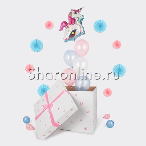 """Фото №1: Коробка-сюрприз """"Единорог"""""""
