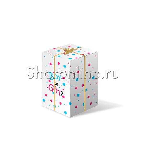 """Фото №1: Коробка-сюрприз """"Мальчик или Девочка"""""""