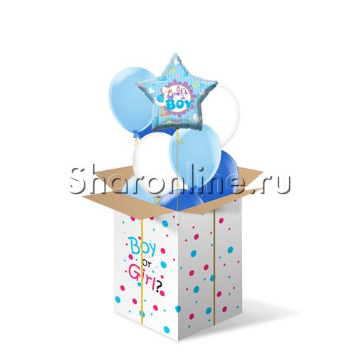 """Фото №2: Коробка-сюрприз """"Мальчик или Девочка"""""""
