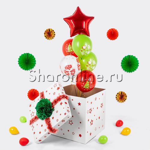 """Фото №1: Коробка-сюрприз """"Новогодняя"""""""