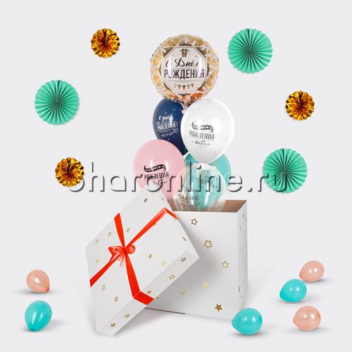 """Фото №3: Коробка-сюрприз """"Поздравляю с днем рождения"""""""