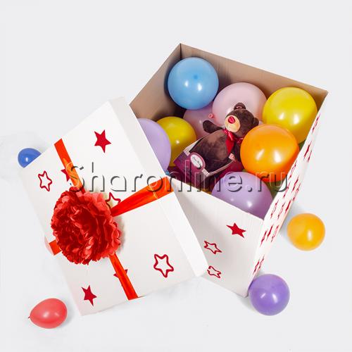 Фото №1: Коробка-сюрприз с игрушкой