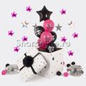Фото №1: Коробка-сюрприз с оскорбительными шарами для нее
